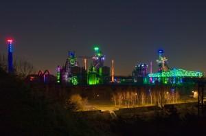 Stahlwerk Landschaftspark Nord Duisburg